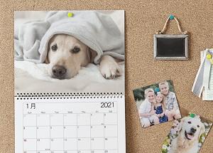 ビスタプリント壁掛けカレンダー
